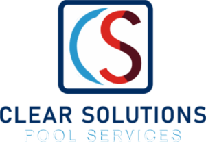 Clear Solutions Pool Services Logo from Footer