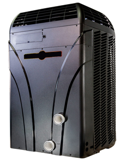 Clear Pool Solutions photo of a pool heater, we install and repair heaters. Call Us Today!